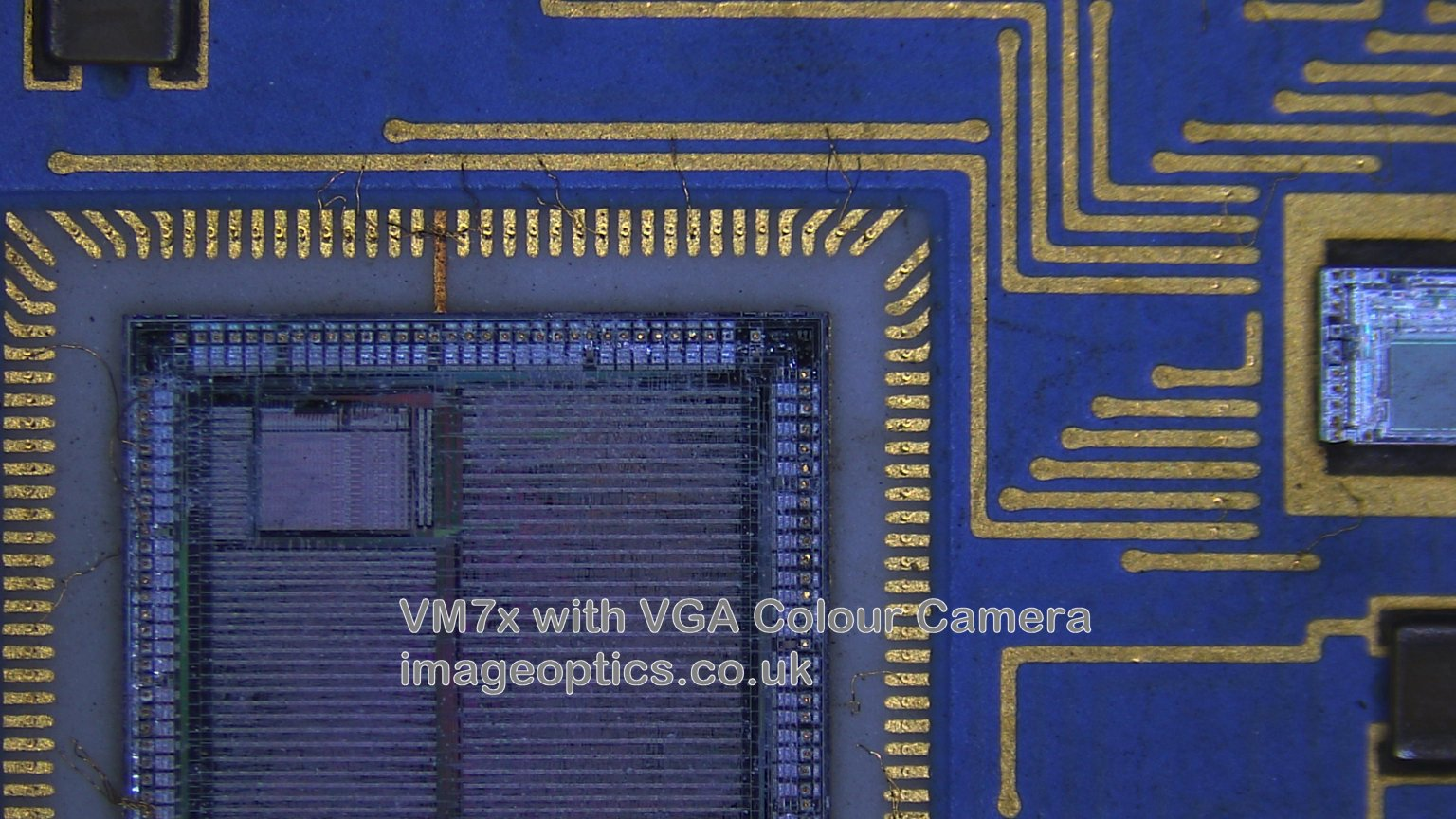 Example of image capture with VGA camera