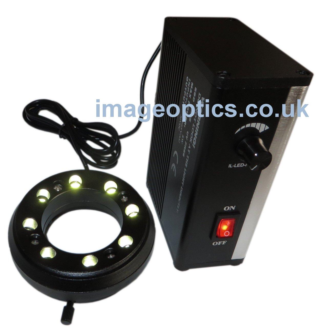 8 point LED ring Light