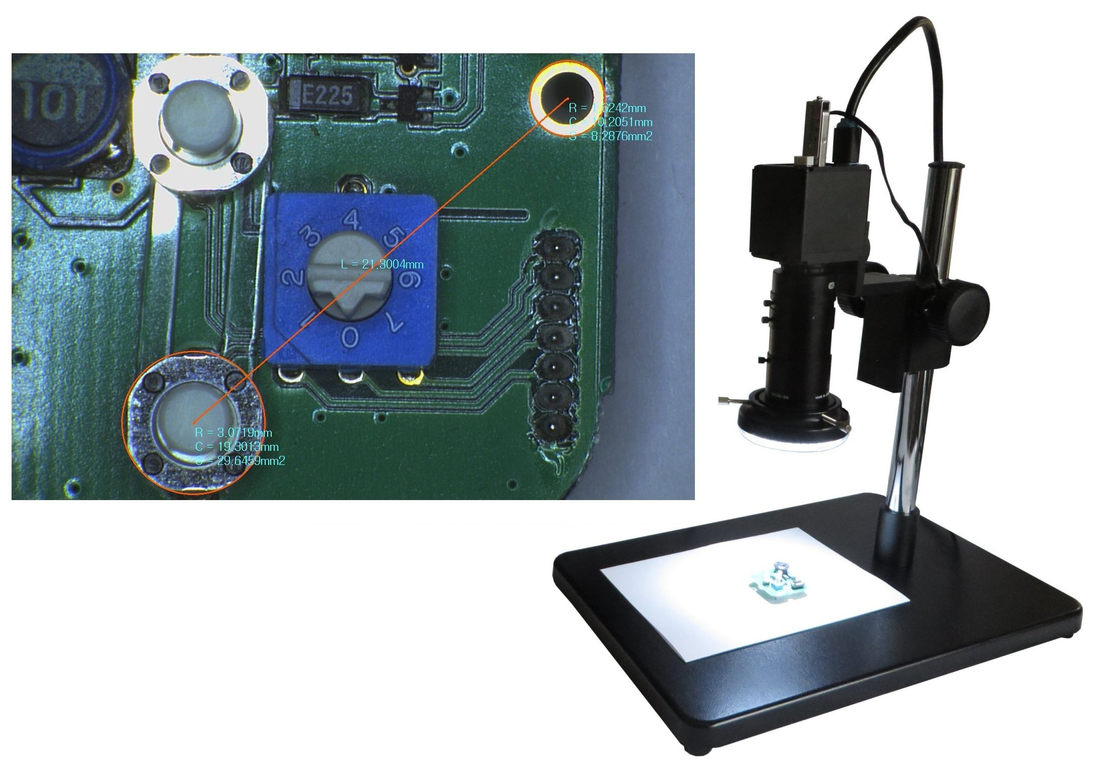 Video Measurement Camera System