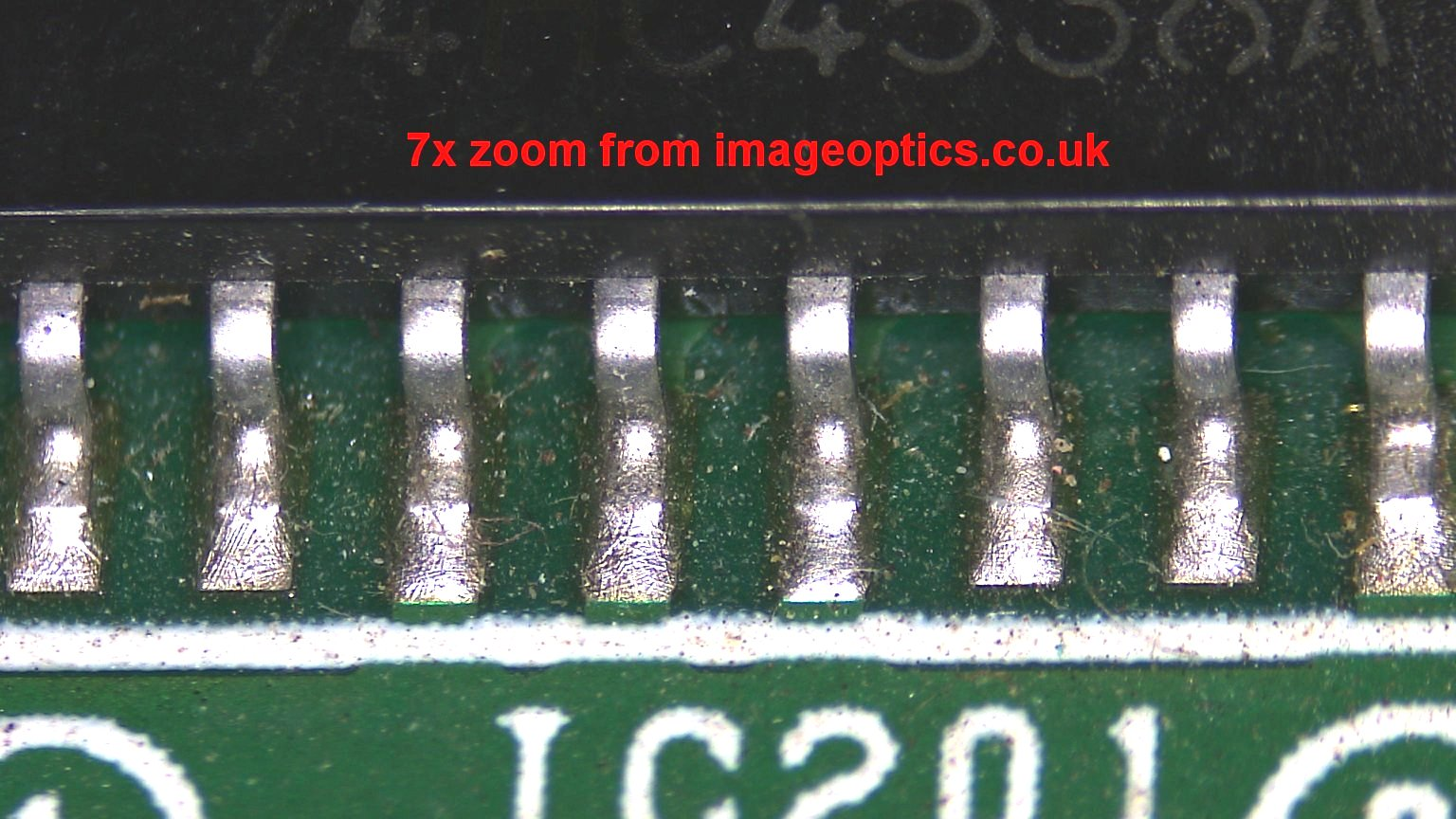 SMT Video Microscope sample picture 1